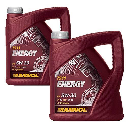 MANNOL 2 x 5 Liter Energy 5W-30 HC Synthese