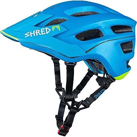 Shred casco Short Stack Scream, Unisex, Helm Short Stack Scream, blu, XS / S