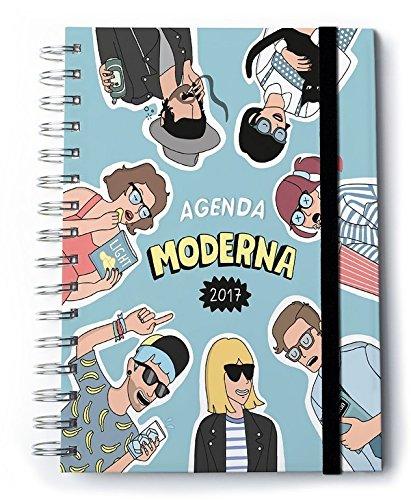 Moderna de Pueblo MDP - Agenda para 2017, semana vista, castellano