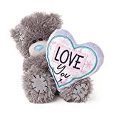 "5"" Love You Heart Cushion Me to You Bear"