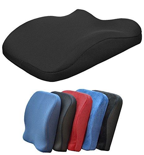 Medipaq - Almohadón de espuma viscoelástica para la espalda – Reduce el...