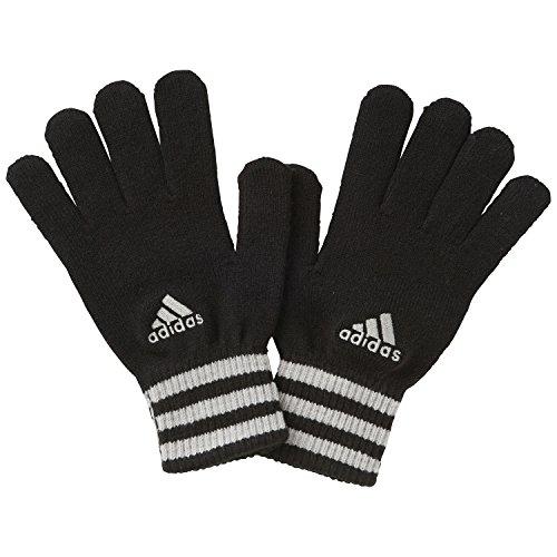 Guanti Adidas Essentials 3strisce, Unisex, Handschuhe Essentials 3 Streifen, nero/grigio, L
