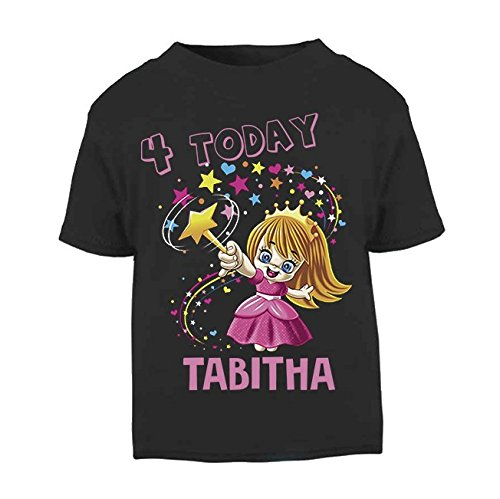 personalisiert Name Fairy Geburtstag Top Kleinkind Top Kids T-Shirt Girl Geschenke Geburtstag Top Geburtstag Geschenke Geburtstag 4Top (T-shirts Kleinkinder Personalisierte Für)