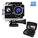APEMAN Sports Action Camera 12MP Full HD 1080p Action Cam