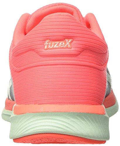 Asics Damen Fuzex Rush Laufschuhe Mehrfarbig (Midgrey/bay/flash Coral)
