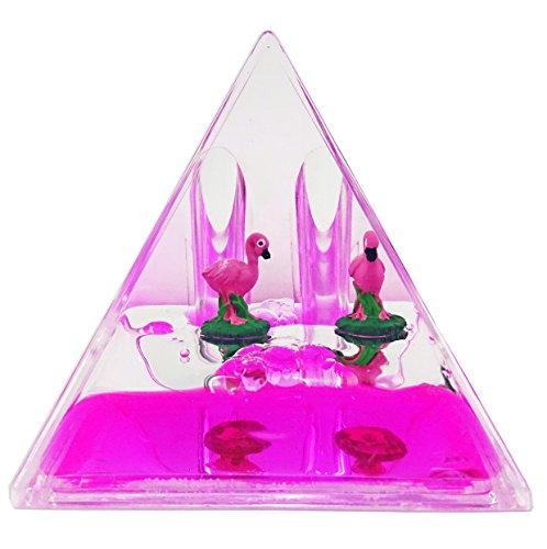 Porte Stylo Pyramide, flotteur Flamant Rose - Rose