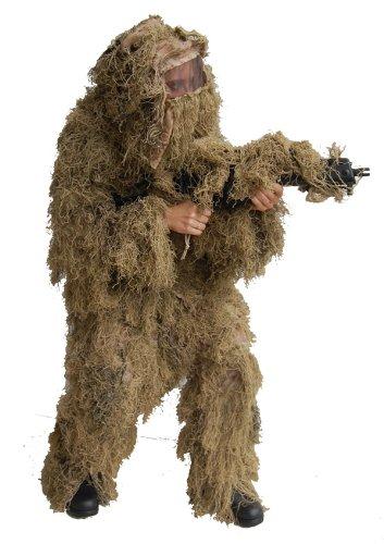 Mil-Tec Moor-Monster Ungeheuer Halloween-Kostüm beige M / - Parks And Recreation Kostüm