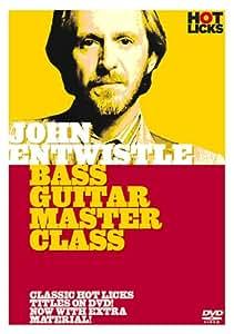John Entwistle - Bass guitar Master Class [DVD]