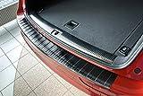 Tuning-Art L247 Edelstahl Schwarz Ladekantenschutz mit Abkantung fahrzeugspezifische Passform