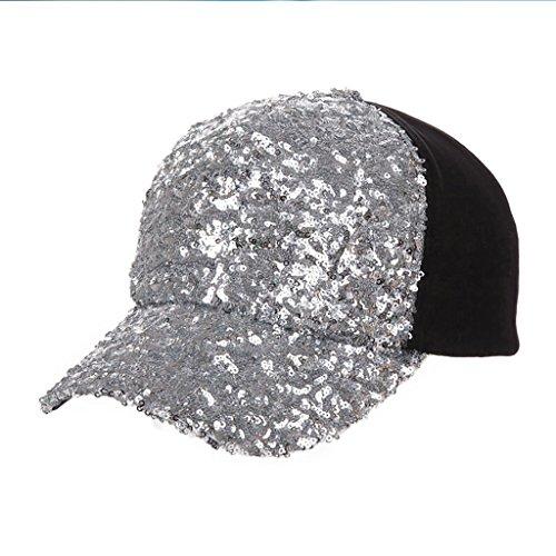 XHBQM Casquette de baseball Printemps et été Automne Trendy Sequins Duck Cap Casquette Outdoor Hip Hop Hat Sun ( couleur : 1* ) 3*