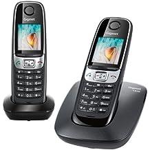 Gigaset C620 Duo - Teléfono fijo inalámbrico (2 terminales) (importado)