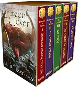 Crimzon and Clover - Collection One (Stories 1-5) (Crimzon and Clover Collection) (English Edition) par [Mathias, M. R.]