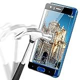 Huawei Honor 9 Pellicole Protettive, APICI 3D Full Cover Ultraviolet Corazzato Pellicola di Vetro Dello Schermo Curvo Vetro di Protezione Protector Pellicola per Honor 9 (Nero)
