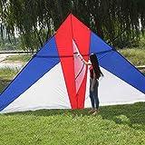 kite Cerf-Volant Géant Triangle Idéal pour Les Enfants Et Les Adultes - Facile à...