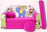 Die besten Schlafsofa Matratzen - Kindersofa Spielsofa Minicouch aus Schaum Kindersessel Kissen Matratze Bewertungen