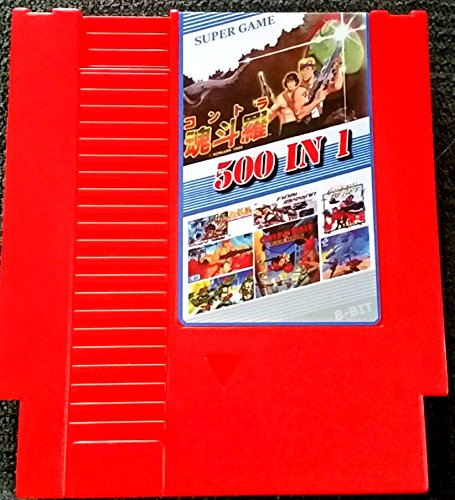 NES 500 in 1 Game Cartridge NES Nintendo 8-Bit 72-PIN