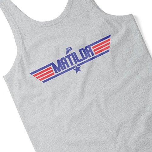 Robot Wars Matilda Top Gun Men's Vest Heather Grey