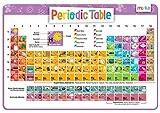 merka Kinder-Periodensystem der Elemente mit schönen Bildern, jedes Element darstellt - Educational Kinder Tischset - nicht Beleg Waschbar