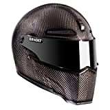Bandit ECE 22-05 Alien II Casque de moto Carbon/S S(55/56)