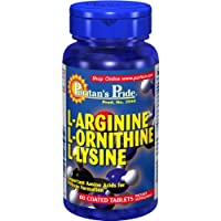 L-arginine L-ornithine L-lysine 60 Tabletten 3940 preisvergleich bei billige-tabletten.eu
