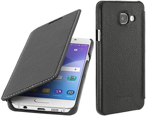 StilGut Book Type, housse en cuir pour Samsung Galaxy A3 (2016), en noir