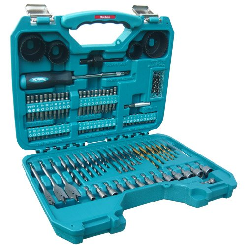 For DIY'ers, we think Makita Power Drill Accessory Set (100 Pieces) is the perfect tool set for you.  We only recommend for home use and DIY enthusiast but probably not professional drill works. The 100 pieces of varying diameter sizes are just what you need for day to day unexpected tasks.