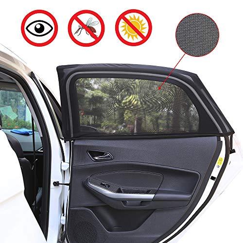 2 mosquiteras Vislone para ventanillas de automóvil por sólo 7,57€ con el #código: Z7R8AM5K