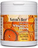 Vitamin C 500mg - advanced time release vitamin C with rosehips and bioflavonoids, 100% UK-made - 250 tablets