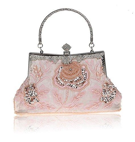 Aronvivi , Damen Clutch rosa rose Einheitsgröße rose
