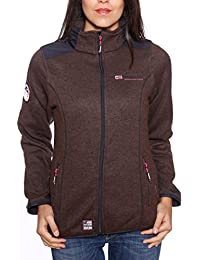 Geographical Norway - Polaire Femme Geographical Norway Terracotta Marron