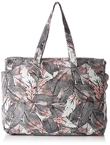 Roxy Damen Single Water B Schultertaschen, Noir (Anthracite Drop Out), 32x14.5x40 cm
