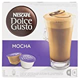 Nescafe Dolce Gusto Mocha Coffee Pods 16 Capsules - Pack...