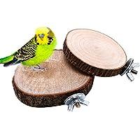 Vogel Spielzeug,Dairyshop Haustier Vogel Papagei Kauen Spielzeug Holz Hängen Schwingen Birdcage Parakeet Cockatiel Käfige