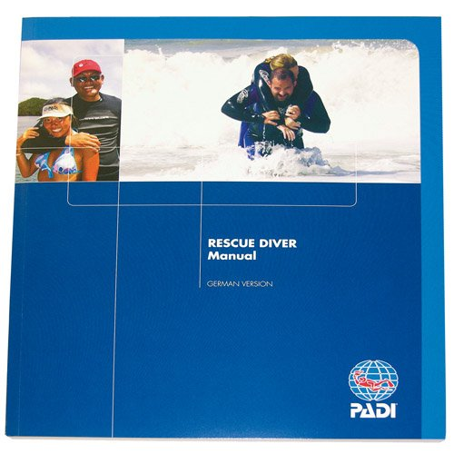 Padi - Manual Rescue Diver with Accident Management Slate (G) -