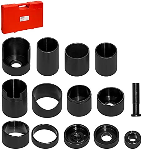 TecTake Ball Joint remover adapter set 14 piece with suitcase