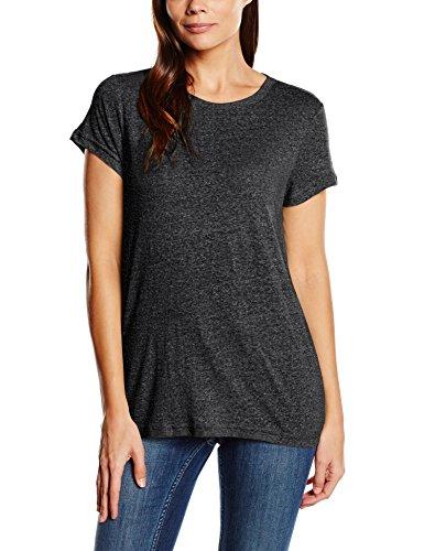 minimum Damen T-Shirt Wivi Schwarz - Schwarz