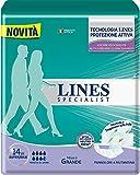 Lines Specialist Pannolone a Mutandina Grande, 14 Pezzi immagine