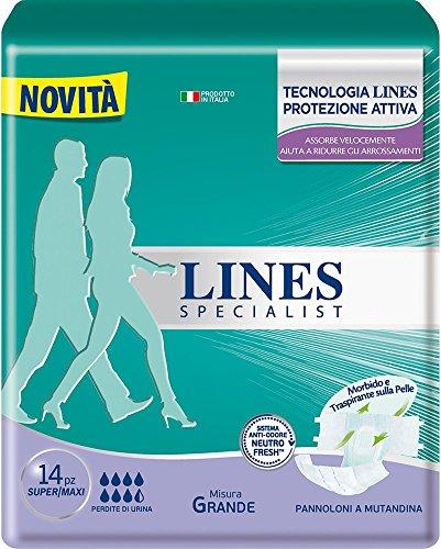 Lines Specialist Pannolone a Mutandina Grande, 14...