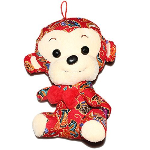 auspicious-zodac-monkey-woo-cloth-toys-small-gifts-toy-animals-24-cm-red