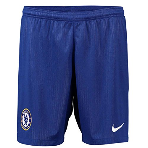 Nike 2018-2019 Chelsea Home Football Shorts (Blue)