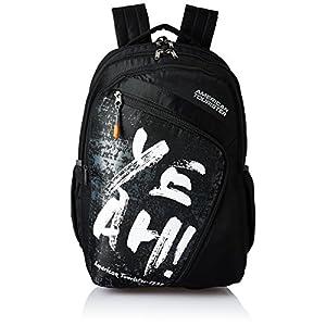 American Tourister 27 Ltrs Black Casual Backpack (AMT VOLT BACKPACK 01 – BLACK)