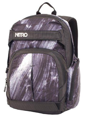 Nitro Snowboards Zaino da Snowboard, Rucksack Drifter, nero - Bleach, 1121877470 Bleach