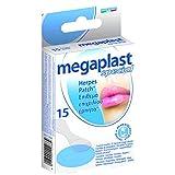 MEGAPLAST - Patch gegen die Herpes, unsichtbar, HYPOALLERGENIC - Gesicht, Haut, Lippen