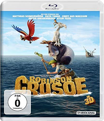 Robinson Crusoe (2D+3D) [3D Blu-ray] Diagonale Audio
