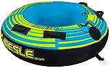 MESLE Tube Hurricane 58'' Blau, 147 cm Donut Wasserski-Ring, Komplett umhüllt