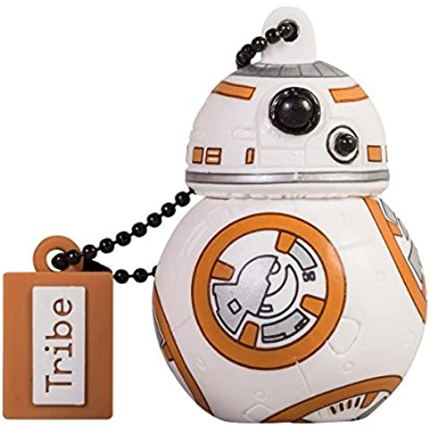Tribe Disney Star Wars Pendrive - Memoria USB Flash Drive 2.0, de goma, 16 GB con llavero, diseño