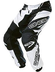 O'NEAL Element RACEWEAR Pantalon pour enfant noir et blanc Youth Motocross MX DH Offroad, 0128-12