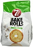 7Days Bake Rolls Knoblauch, 8er Pack (8x 250 g Beutel)