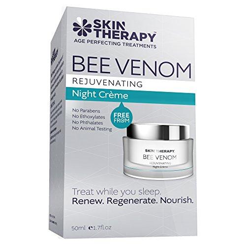 Skin Therapy Crème de Nuit Rajeunissante au Venin...