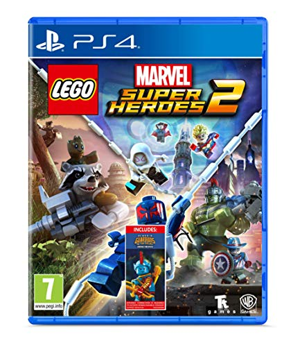 Lego Marvel Super Heroes 2 - Amazon.co.UK DLC Exclusive - PlayStation 4 [Edizione: Regno Unito]